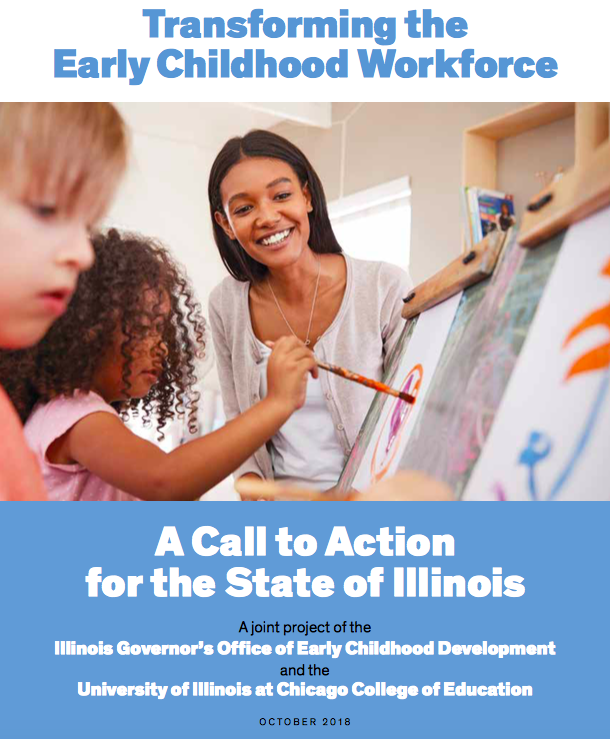 A report for building early learning teachers