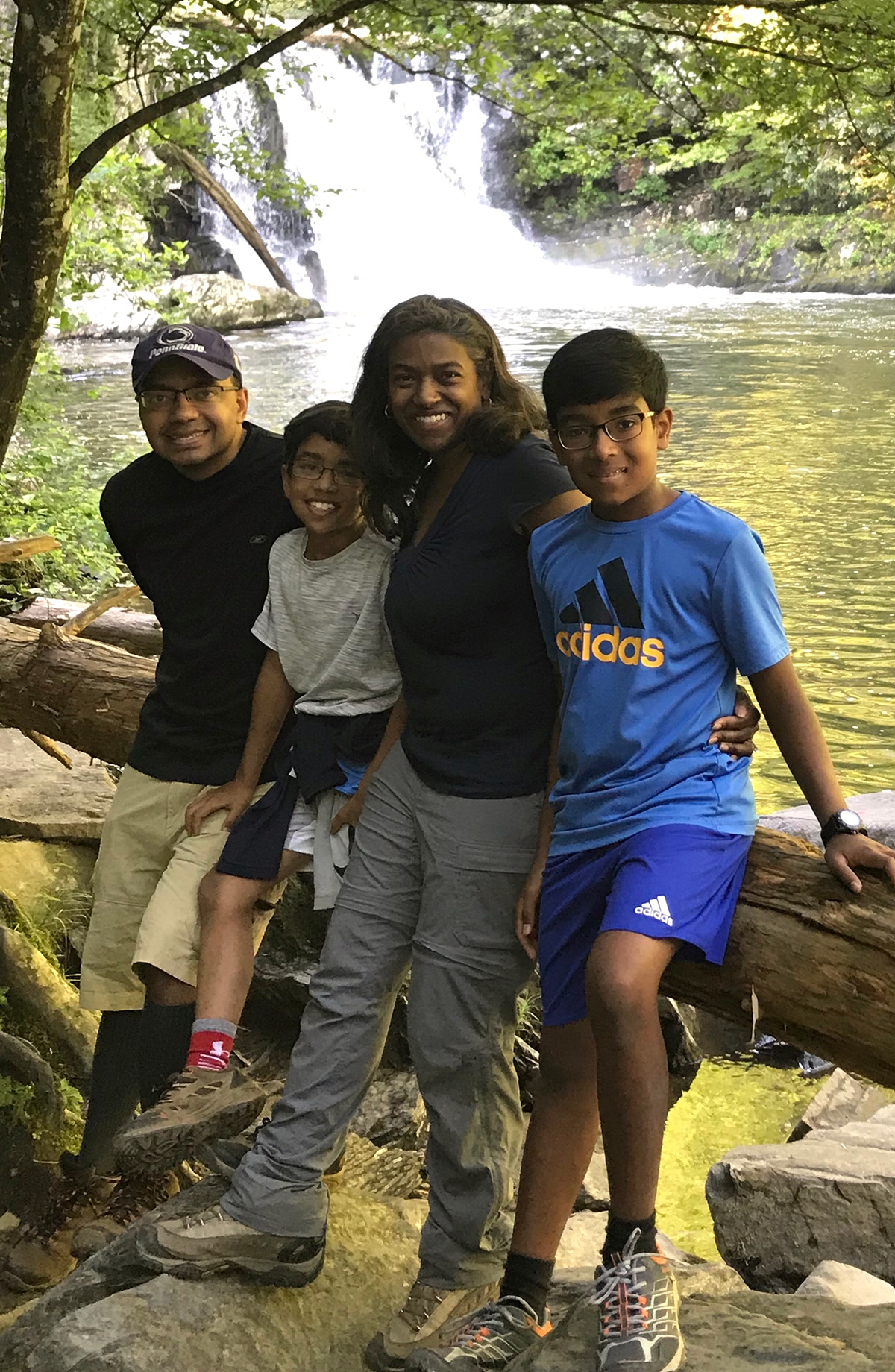 Dr. Geetha Ramani with family